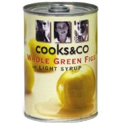 Whole Green Figs in Syrup - 400g